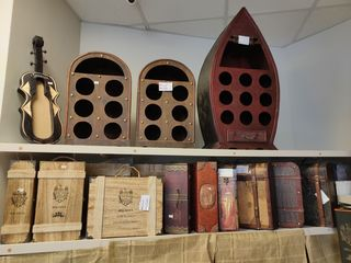 Cufar decorativ Sticle Vin Сундук декоративный для вина