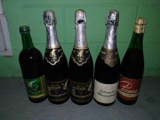 Коллекционное шампанское 1971.Коллекционерам! СССР. Все оригинальное,куплено в советское время !