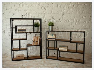 Mobilier in stil loft , Mese , scaune , noptiere, mobiler pe carcasa metalica