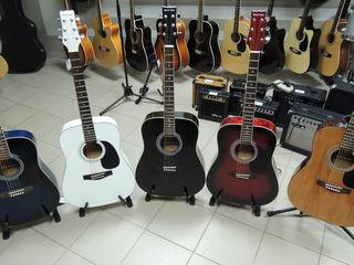 Лидер продаж 2018 года! гитара акустическая Martinez-  2500 лей !