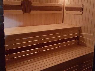 Saună nouă pe lemne сауна на дровах (2 этажа), бассейн бильярд, настольный теннис