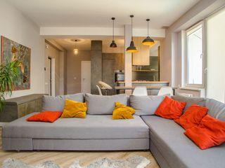 Apartament superb cu 1 camera+living str.Cramei, Centru