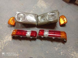 Оптика на Мерседес 123:фары,стопы,повоторотники