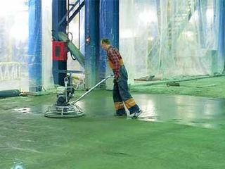 Промышленные бетоные полы.    Pardoseli industriale