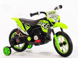 Motocicleta electrica Bike (verde)