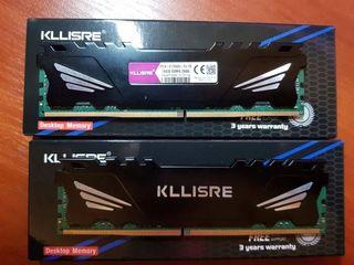 Оперативная память DDR4 1x16GB 2666MHz C радиатором Новая в упаковке Пара 2x16GB будет дешевле