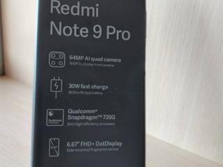 Xiaomi Redmi Note 9 Pro 6/128 GB, 4500 lei