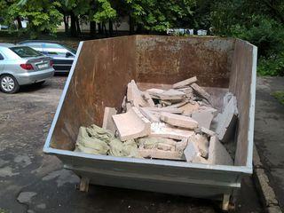 Вывоз мусора контейнером объемом 8 м3!!!