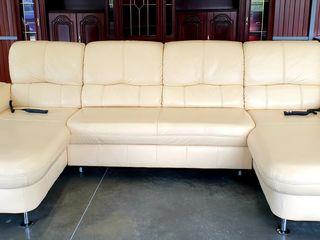 Sofa piele naturala Germania  !!!
