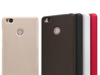 Xiaomi Mi 4S чехол Nillkin Frosted Shield + защитная плёнка