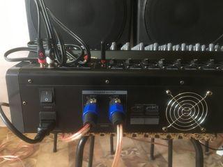 Usiliteli - mixer activ Yamaha PMX-1208 - 2000 w. nou    260 euro