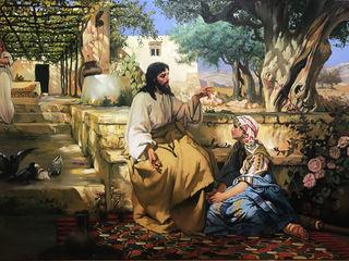 Иисус у Марфы и Марии.копия.