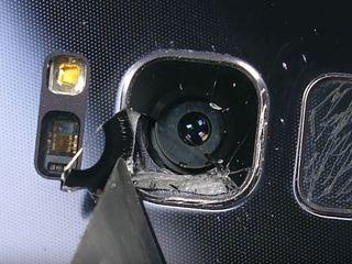 Замена стекла камеры на любой модели Samsung!!