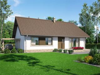 Строительство по немецким стандартам Passivhaus от 250 евро/м2 - белый вариант
