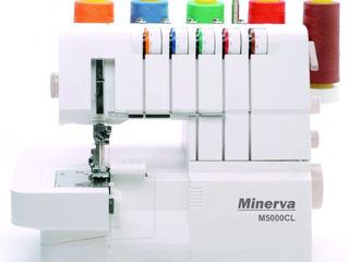 Коверлок Minerva M5000CL (гарантия 3 года, доставка по молдове, кредит!)