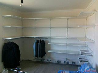 Гардеробная система IKEA style