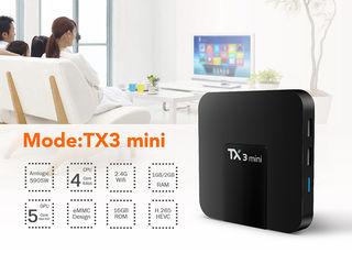 Новый и мощный TV Box Tanix TX3 на Android 7.1, 2GRAM/16ROM - Телевидение без Абонплаты-1500 каналов