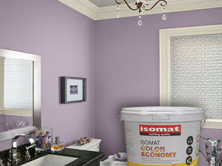Vopsea color economy pentru inerior /  цветная краска economy для дома