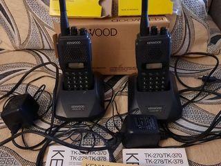 Носимая радиостанция Kenwood TK-278(2шт).=2000 lei.