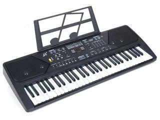 Синтезатор 61 к, USB, bluetooth, микрофон, радио (новые) бесплатная экспресс доставка по Молдове