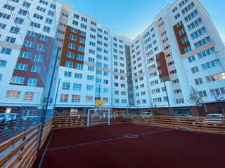 Ciocana, bd. Mircea cel Bătrîn, apartament cu 2 odai, bloc dat în exploatare, 62 m.p, 44 000€