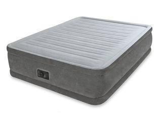 Кровать Comfort-Plush Intex 64414( 152х203х46 см ) со встроенным насосом 220В