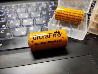 18350 Ultrafire 1200 mah Li-ion аккумуляторы для стабилизаторов
