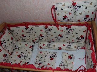 Комплекты (бортики) в детскую кроватку 120/60
