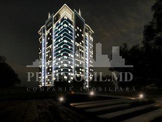 Complexul rezidențial Premium Tower este amplasat în centrul Chișinăului, pe strada P. Rareș