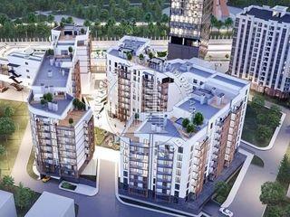 Apartent cu trei camere 88 m2 Toro Center