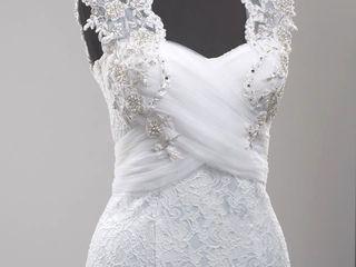Свадебное платье (русалка)