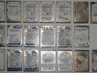 """Продам для ремонтников HDD для ноутбука до 500ГБ. HDD 1TB 3.5"""", 160GB 10K в идеальном состоянии"""