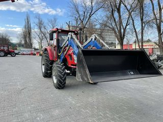 Incarcator frontal 4.0m-1000kg 4.5-1600 kg (tractor Dong Feng)