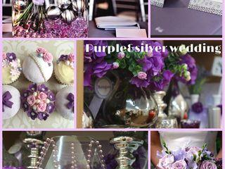 Свадебный декор in Violet color 2020!