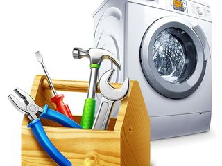 Ремонт и установка стиральных машин на дому . Диагностика . Гарантия .