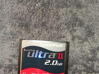 Продается карта памяти SanDisk CompactFlash Ultra II, 2 gb