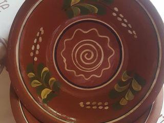Тарелки глиняные   20 лей