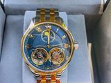 Binger Luxury-45Jewels-Automatic-Double Tourbillon-Original-New