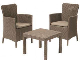 Reducere la setul de mobila de grădină Allibert Salvador S3, livrare la domiciliu,calitate garantata