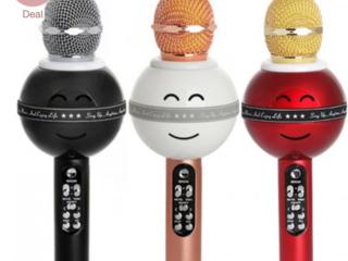 микрофон караоке  WS-399 lei