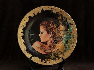 Продам картины на тарелках