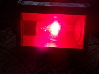 лампа красного света СССР