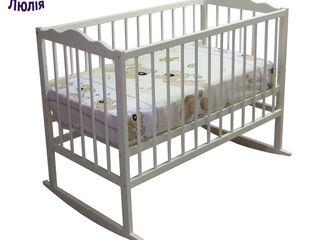 Кроватки из бука. Бесплатная доставка по Кишиневу!!! От 1500 лей.
