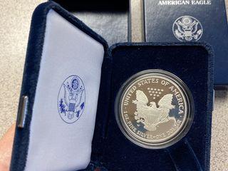 Монета , серебро «один доллар» 2006 г