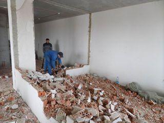 Алмазная резка бетона, Демонтаж стен, Демонтажные работы