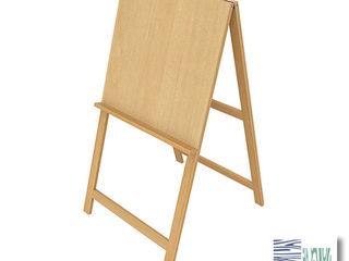 Мольберт-хлопушка напольный Smart Wood 1200600, MDF, M120060-01