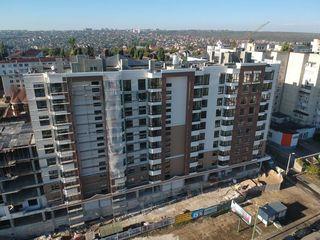 Astercon Grup-Buiucani, 2 camere 61,94 m2, 760 €/m2, prețul 47 074 €, cu prima rată 7061 €
