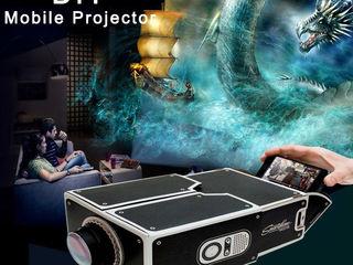 Картонный проектор для смартфона!