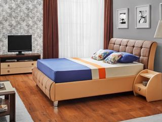 Dormitor Ambianta Samba Brown cu livrare pînă la domiciliu, super preț !