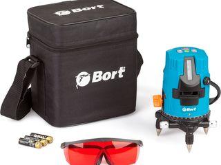 Лазерный уровень 15м Bort / nivele cu laser / nivele / stative /  Euromaster.MD